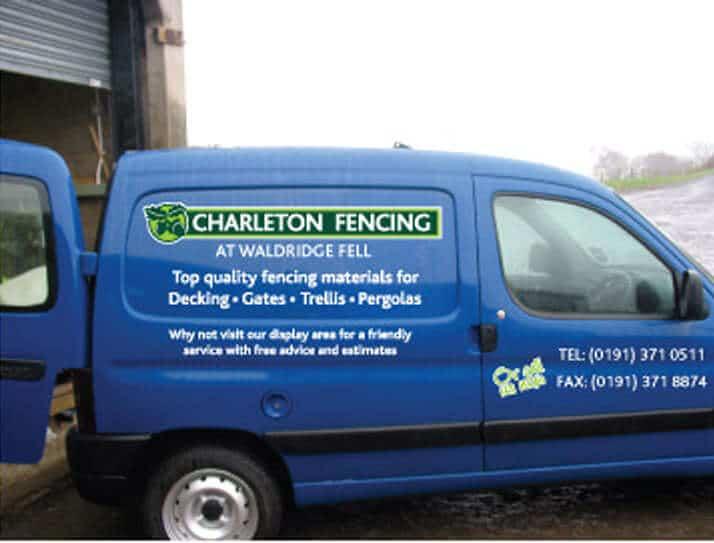 Charleton-Fencing-Van