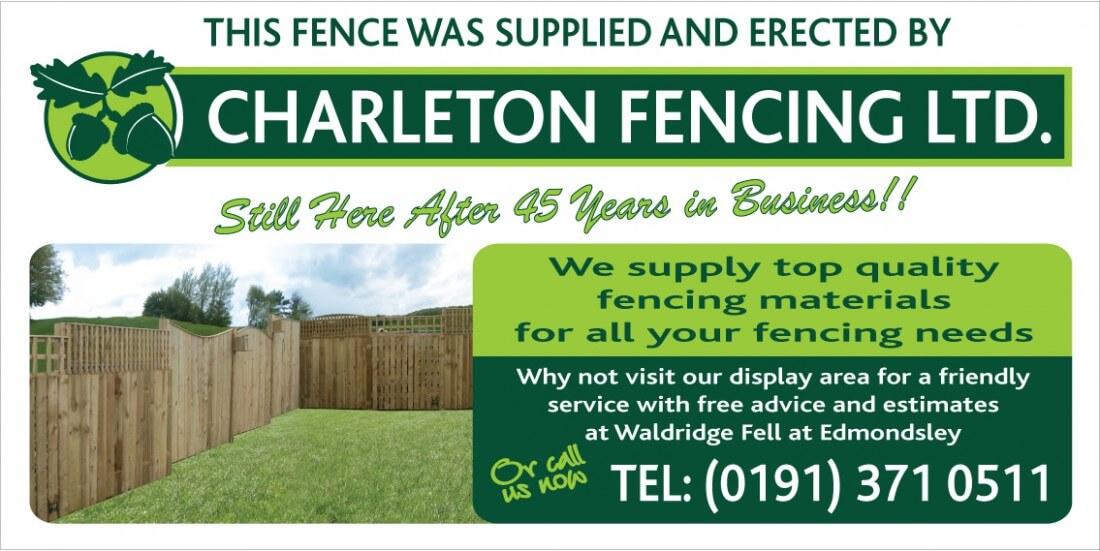 Charleton Fencing Badge